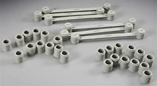 HO 4-Lane Bridge Support (6 Supports w/Cross Members & 24 Attachable Risers) AFX Racing