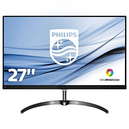 Philips 276E8FJAB/00 68 cm (27 Zoll) Monitor (VGA, HDMI, 4ms Reaktionszeit, 2560 x 1440, Displayport, 60 Hz) schwarz
