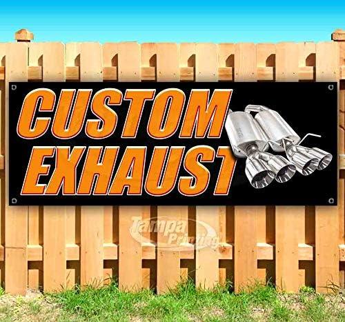 Custom お求めやすく価格改定 Exhaust 13 oz Banner クリアランスsale 期間限定 Sing Heavy-Duty Non-Fabric Vinyl