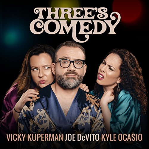 Three's Comedy audiobook cover art