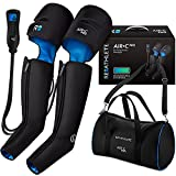 ReAthlete Leg Massager | Rechargeable & Portable Sequential Compression Device with Digital Controller & Bag | New Sleeve Design SCD Machine for Legs | Muscle Pain Relief Thigh, Calf & Feet Massager