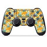 DeinDesign Skin kompatibel mit Sony Playstation 4 PS4 Pro Controller Folie Sticker Kaktus Sommer Blume
