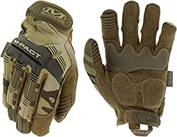Mechanix Wear  M-Pact MultiCam Tactical Work Gloves  X-Large Camouflage