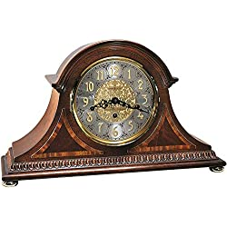 Howard Miller Webster Mantel Clock 613-559 – Windsor Cherry, Key Wound Triple Chime Movement