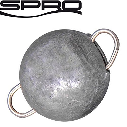Spro Bottom Jig - Bleiköpfe zum Jiggen, Jigköpfe zum Gummifischangeln, Bleikugel zum Jigangeln, Gewicht/Inhalt:21g - 3 Stück
