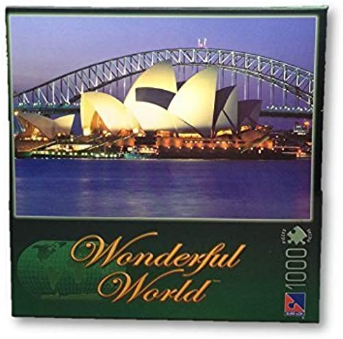Wonderful World Sydney Opera House Puzzle - 1000 Pieces by Sure-Lox