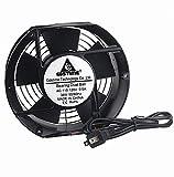 GDSTIME AXIAL Fan 17251, 110V 120V AC 170mm Fan, Ventilation Exhaust Projects Cooling Fan