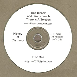 Sandy Beach and Bob Biznaz 4 Cd Set There is a Solution: Alcoholics Anonymous