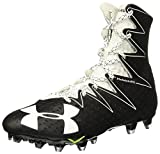 Under Armour New Mens Highlight MC Football Cleats Black/White Size 10 M