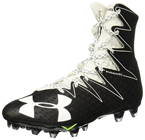Under Armour New Mens Highlight MC Football Cleats Black/White Size 8 M