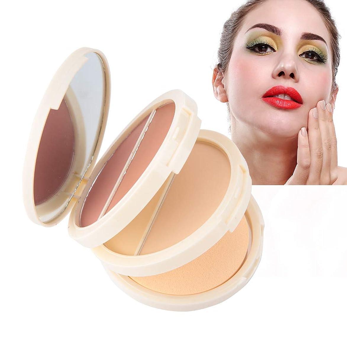 機関評決一生化粧品、オイル管理および防水および長続きがする効果のための1つのコンシーラーの粉の赤面粉に付き3つ