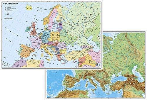 Europa physisch / politisch