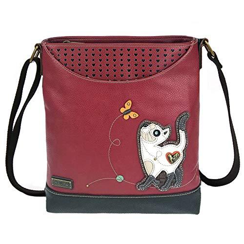 Bulldog Mom Chala Handbags Chala Bulldog Deluxe Messenger Bag Bulldog Lover