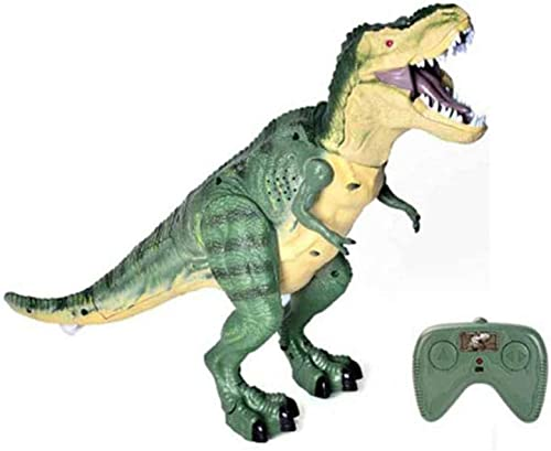 gikmhyb Kinder Dinosaurier Spielzeug Fernbedienung Elektro Tyrannosaurus Crocodile Simulation Tierspielzeug,A