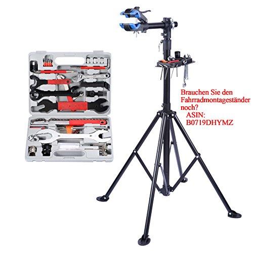 Yorbay Fahrrad Werkzeugkoffer 48-TLG Werkzeugset im praktischen Tragekoffer universelles Fahrradwerkzeug zur Fahrradreparatur zu Hause - 5
