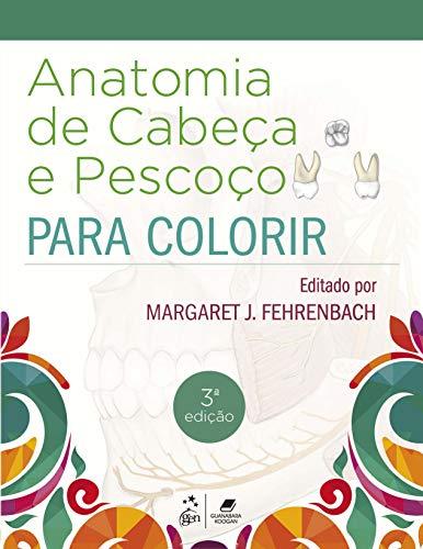 Anatomia de Cabeça e Pescoço para Colorir