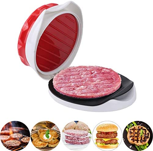 Good Helper Burger Press Patty Burger Maker Non Stick Hamburger Mold Kit for Easily Making Delicious product image