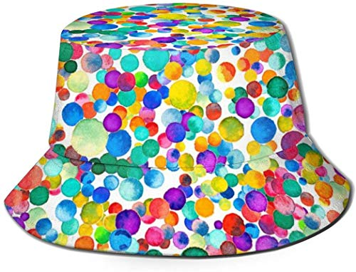 Bernice Winifred Sombreros de Cubo Transpirables Superiores Planos Unisex Cangrejo Rojo Langosta Medusa Sombrero de Cubo Sombrero de Pescador de Verano