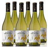 Vino Blanco Los Boldos Tradition Réserve Chardonnay - 6 botellas de 750 ml - Total: 4500 ml