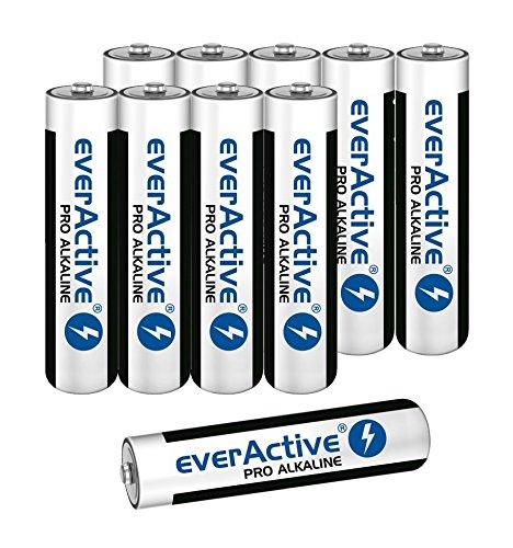 Batterien Micro AAA LR03 Alkaline Folienpack 10 Stück everactive Markenqualität
