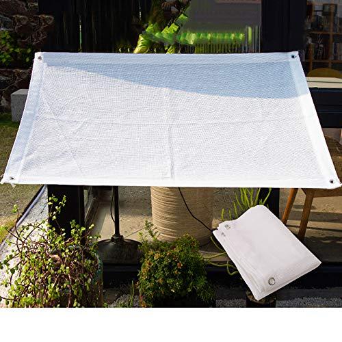 L-DREAM Vela De Sombra Rectangular Toldo Parasol Exterior丨toldos para Jardin, Camping, Pérgola丨Protección Anti-UV 97% 丨Prueba De Viento丨Transpirable丨Tela Sombra