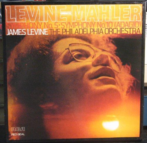 Levine Mahler Symphony No. 5 + 10 James Levine The Philadelphia Orchestre Vinyl LP Box