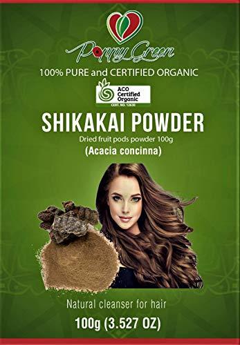 Shikakai Pulver für Haar Akazie Concinna Natürlicher Reiniger für Haar
