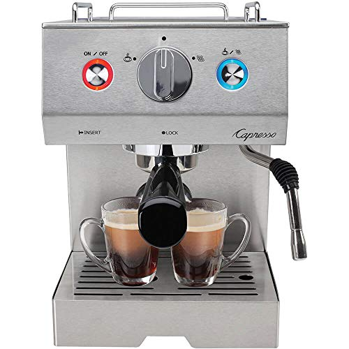 Capresso Cafe Select Professional Stainless Steel Espresso and Cappuccino Machine