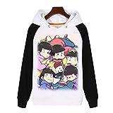 Rain's Pan Anime Mr.Osomatsu San Cosplay Costume Thick Hoodies Sweatshirt Pullover Sweaters Coat Teens (US L=Asia XXL, 01)