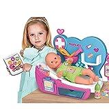 Nenuco - Doctora Por Qué Llora, cura como un doctor a tu muñeco bebé con los accesorios del médico e...