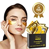 (24 PAIRS) Rejuvenating Under Eye Mask for Puffy Eyes - Dark Circles Under Eye Bags Treatm...