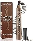 iMethod Eyebrow Pen - Upgrade Eyebrow TattooPen, Eyebrow Makeup, Long Lasting, Waterproof and Smudge-proof, Dark Brown