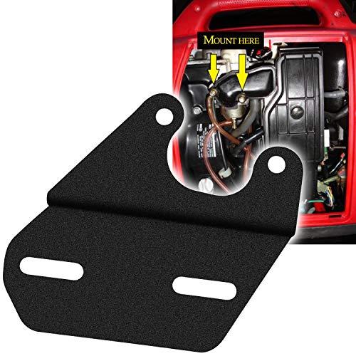 Sunluway Universal Tach/Hour Meter Mounting Bracket Black Compatible for Honda Generators EU1000I EU2000I & EU2200I