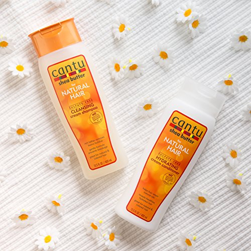 Cantu Shea Butter for Natural Hair Sulfate-Free Cleansing Cream Shampoo  400 ml
