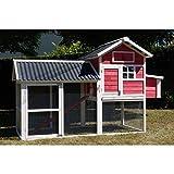 Poulailler Red Dust toit PVC 6 à 8 poules