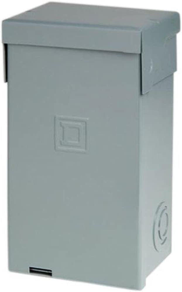 Square D HOME250SPA Homeline Spa Pack44; Outdoor 3R Steel Enclosure