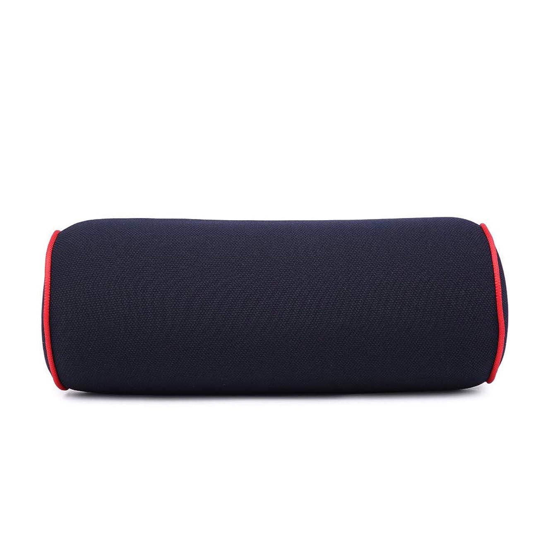 観客寛容流出車のメモリ綿ヘッドレストカーネック枕枕メモリ綿骨ピローネック、快適な旅行ヘッドレストネック睡眠枕、子供や大人に適して,Black