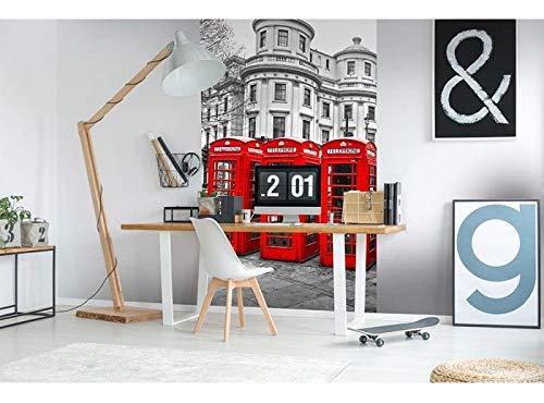 Vlies Fotobehang LONDEN | Niet-Geweven Foto Mural | Wall Mural - Behang - Reusachtige Wandposter | Premium Kwaliteit - Gemaakt in de EU | 150 cm x 250 cm