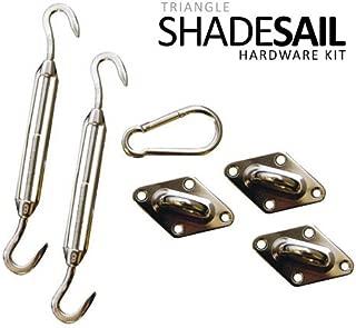 California Sun Sail Shade Hardware Kits - Triangle Kit