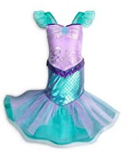 Little Girls Mermaid Costume Dress up Princess Cosplay Birthday Party Outfit