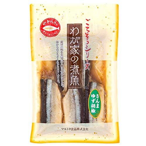 さんまゆず胡椒×5P マルトヨ食品 三陸沖で獲れた旬のさんまを使用