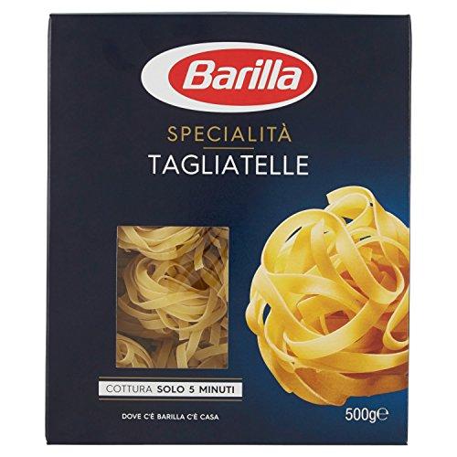 Barilla Pasta Tagliatelle, Pasta Lunga di Semola di Grano Duro, Specialità, 500 g