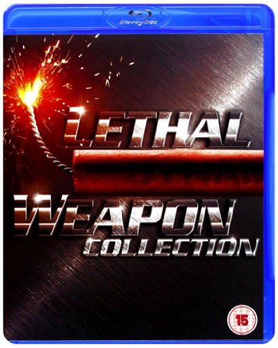 Lethal Weapon Complete Movies 1, 2, 3 and 4 Blu Ray Collection [4 Discs] Box Set + Extras