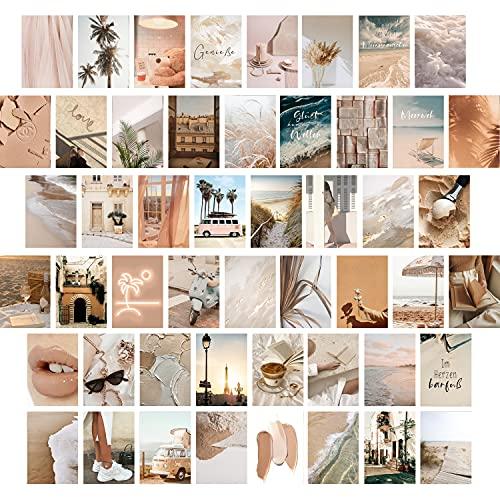 myDreamwork – Premium wandcollage, set van 50, esthetiek, poster meisjes, collage kit | stijlvolle fotoset voor de…