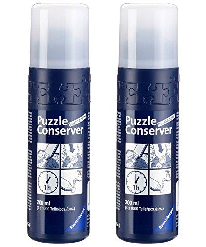 Outletdelocio. Pack 2 Unidades Pegamento/Conserver Ravensburger para Puzzles. para Puzzles hasta 8000 Piezas