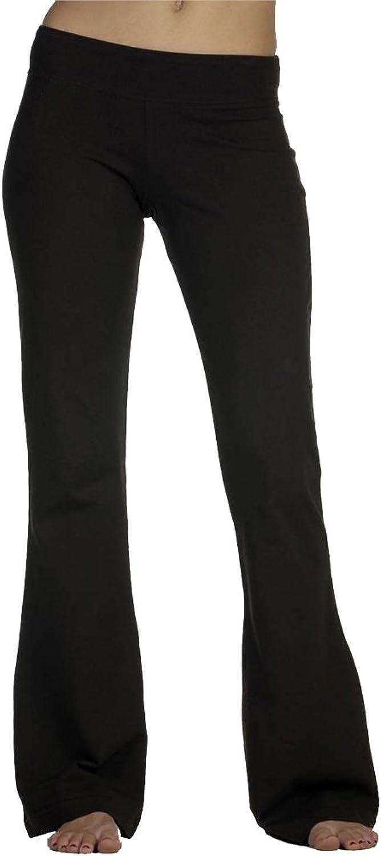 Bella Women's Stretch Fitness Pants Black Medium
