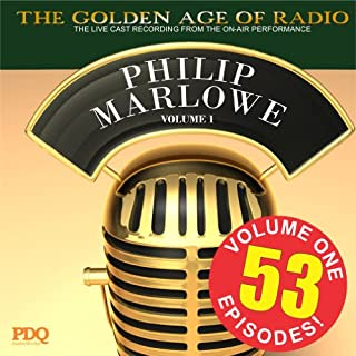 Adventures of Philip Marlowe Vol 1                   By:                                                                                                                                 PDQ Audiobooks                               Narrated by:                                                                                                                                 Gerald Mohr Van Heflin                      Length: 26 hrs and 1 min     4 ratings     Overall 4.5