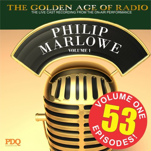 Adventures of Philip Marlowe Vol 1                   By:                                                                                                                                 PDQ Audiobooks                               Narrated by:                                                                                                                                 Gerald Mohr Van Heflin                      Length: 26 hrs and 1 min     62 ratings     Overall 4.4