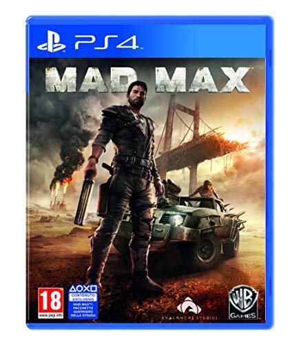 Warner Bros Mad Max, PS4 Básico PlayStation 4 Italiano vídeo - Juego (PS4, PlayStation 4, Acción / Aventura, M (Maduro))