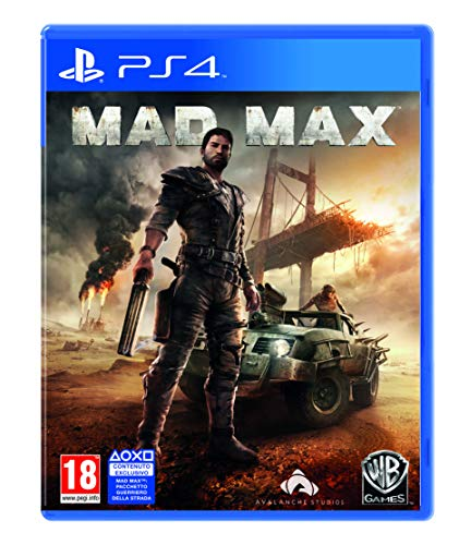 Warner Bros Mad Max, PS4 Básico PlayStation 4 Italiano vídeo - Juego (PS4, PlayStation 4, Acción / Aventura, M (Maduro))